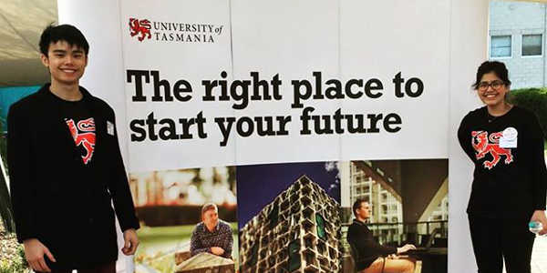 Welcome to University of Tasmania Open Day